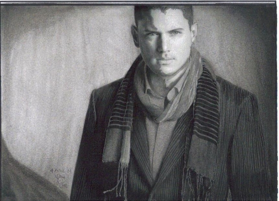 Wentworth Miller by chrys